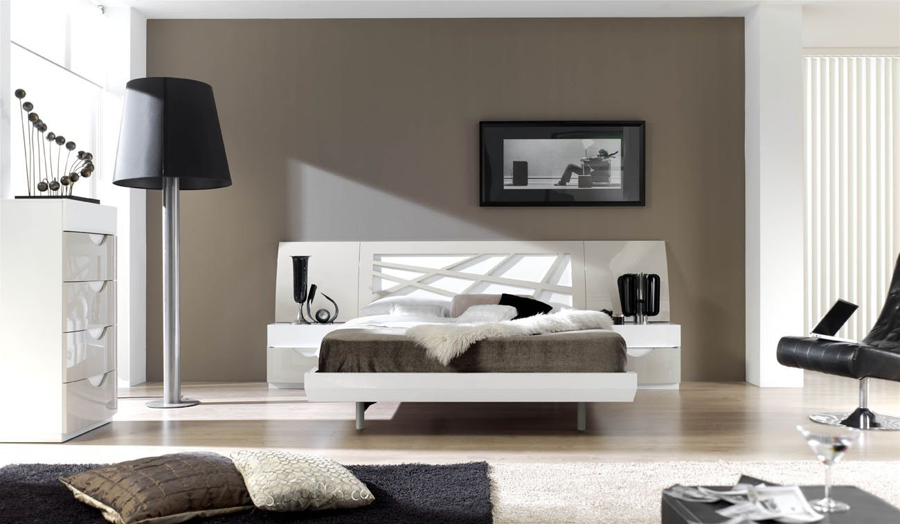 Best Graceful Lacquered Contemporary Modern Bedroom Sets With With Pictures