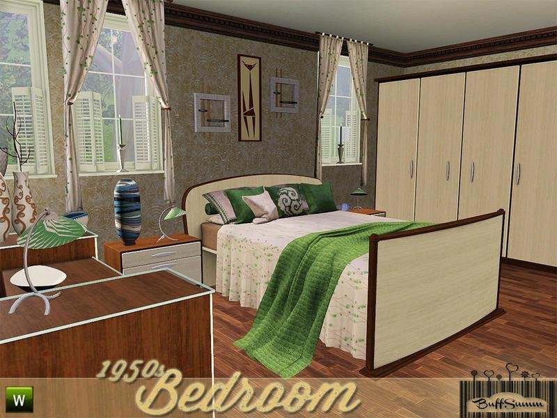 Best Buffsumm S 1950S Bedroom With Pictures