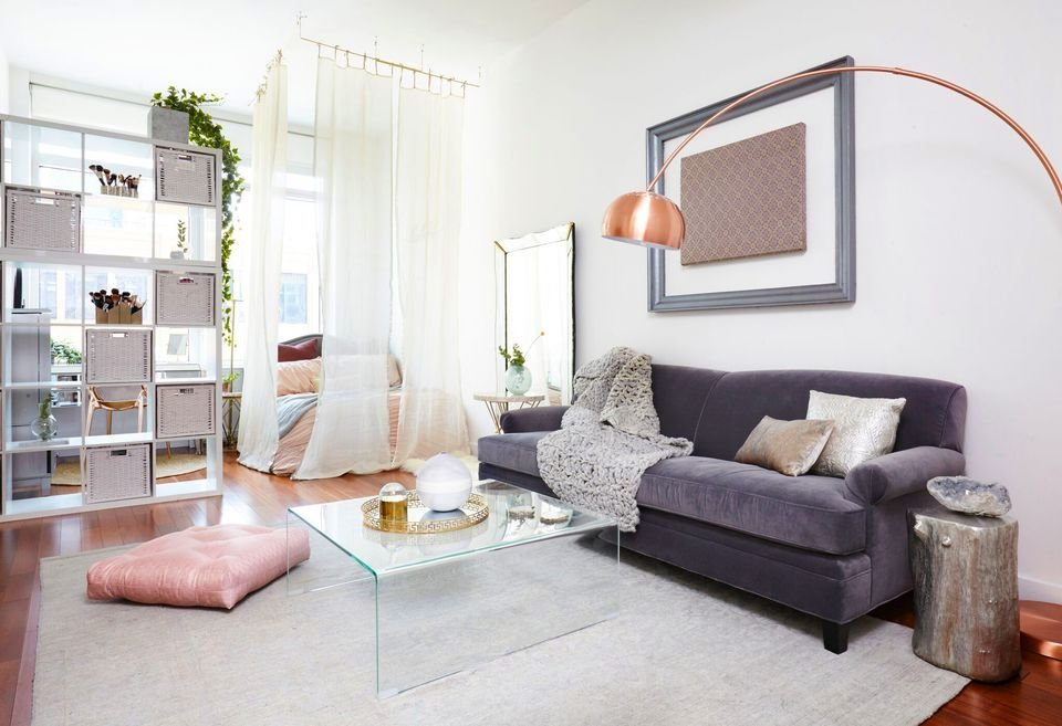 Best 25 Ways To Create A Bedroom In A Studio Apartment With Pictures