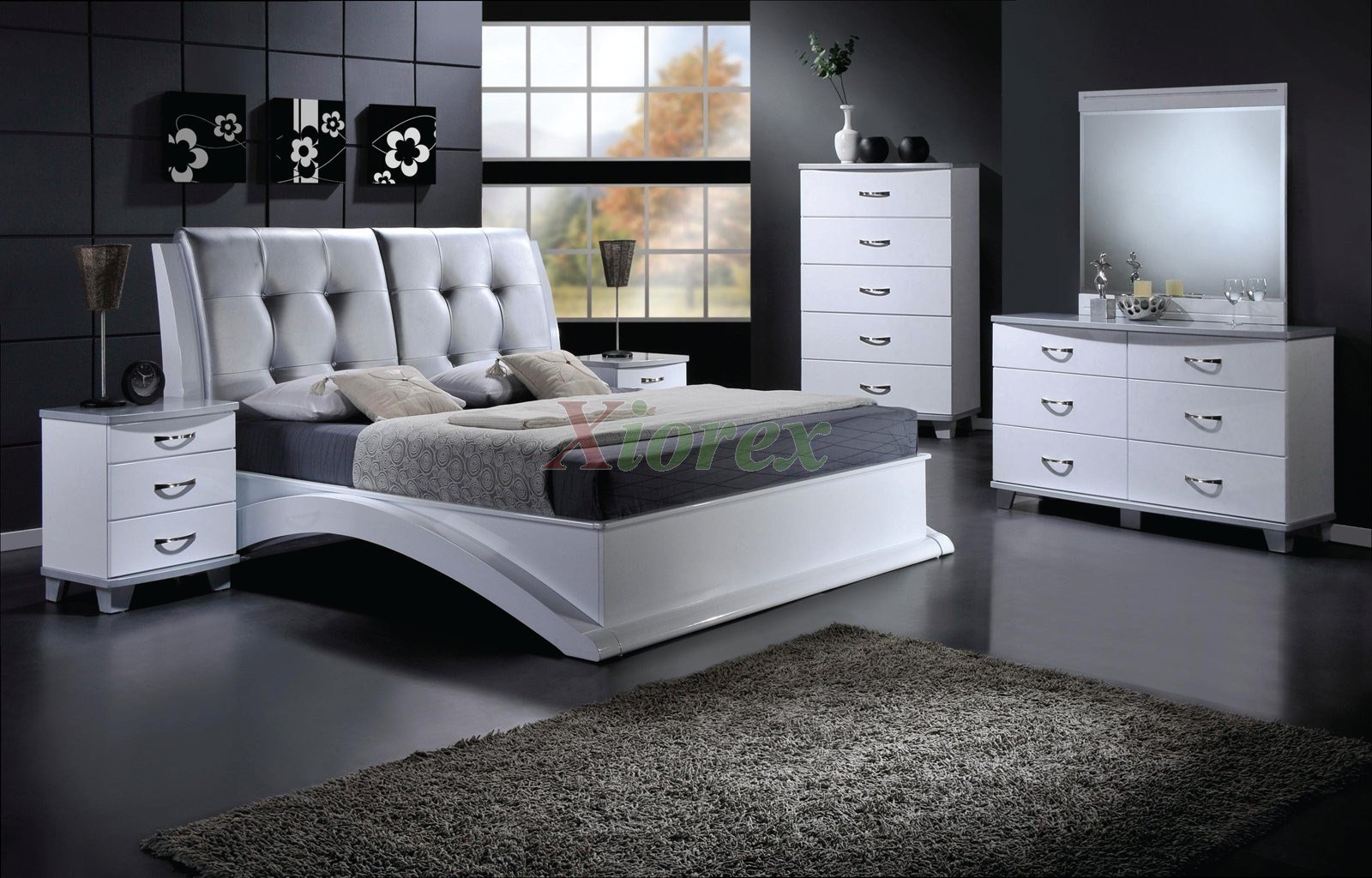 Best Platform Bedroom Furniture Set With Leather Headboard 145 With Pictures