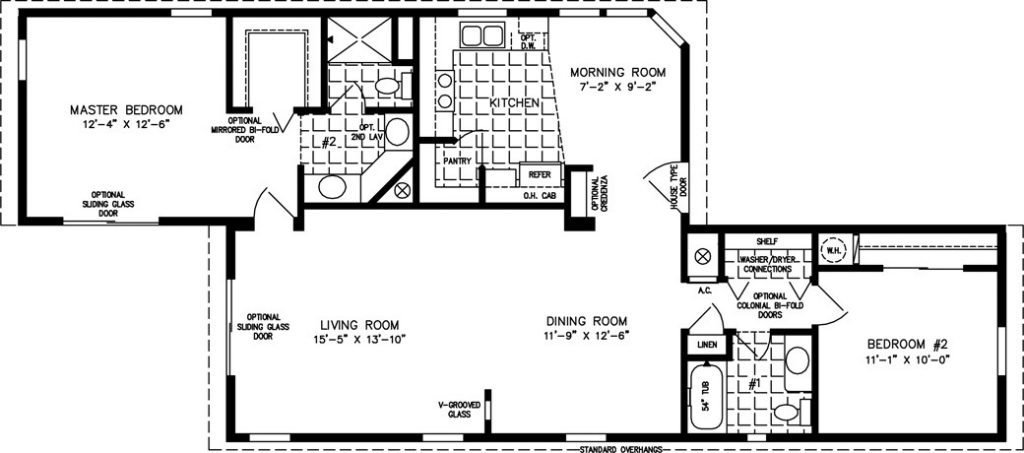Best Of 2 Bedroom Mobile Home Floor Plans New Home Plans With Pictures