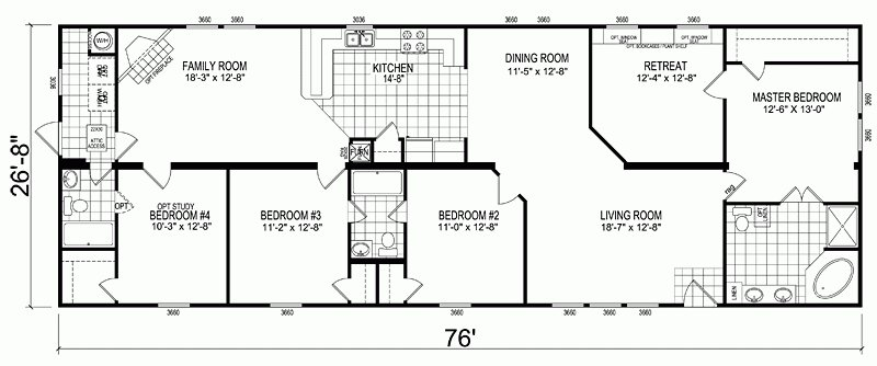Best New Mobile Homes Double Wide Floor Plan New Home Plans With Pictures