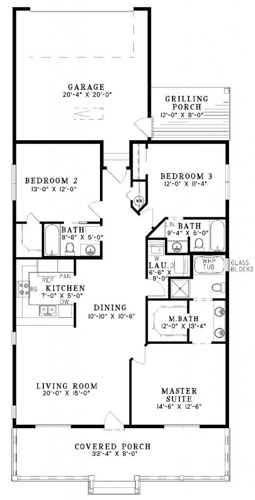 Best Cool 3 Bedroom House Plans One Story New Home Plans Design With Pictures