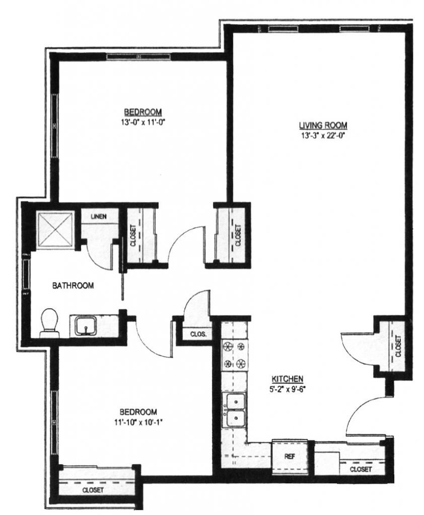 Best Two Bedroom One Bath House Plans Unique Two Bed E Bath—910 With Pictures