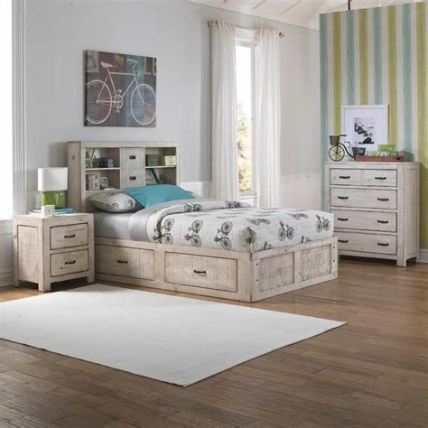 Best Oak Furniture West Bedroom Groups 6 Piece Captain S Youth With Pictures