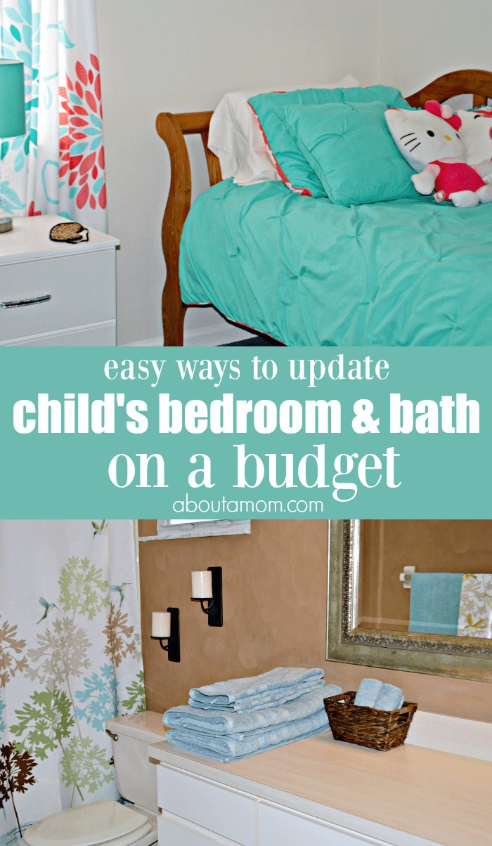 Best Easy Ways To Update A Child S Bedroom And Bath On A Budget With Pictures