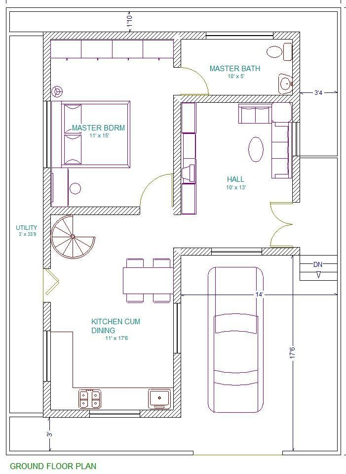 Best 30X40 East Facing Vastu Home Everyone Will Like Acha Homes With Pictures