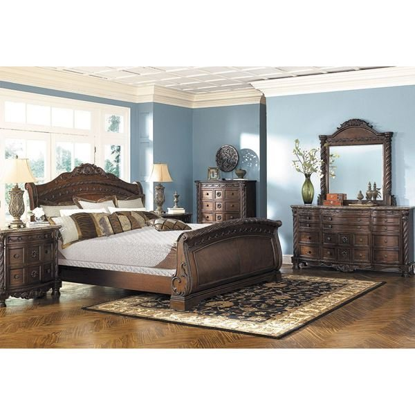 Best North Shore 5 Piece Bedroom Set B553 5Pcset Ashley With Pictures
