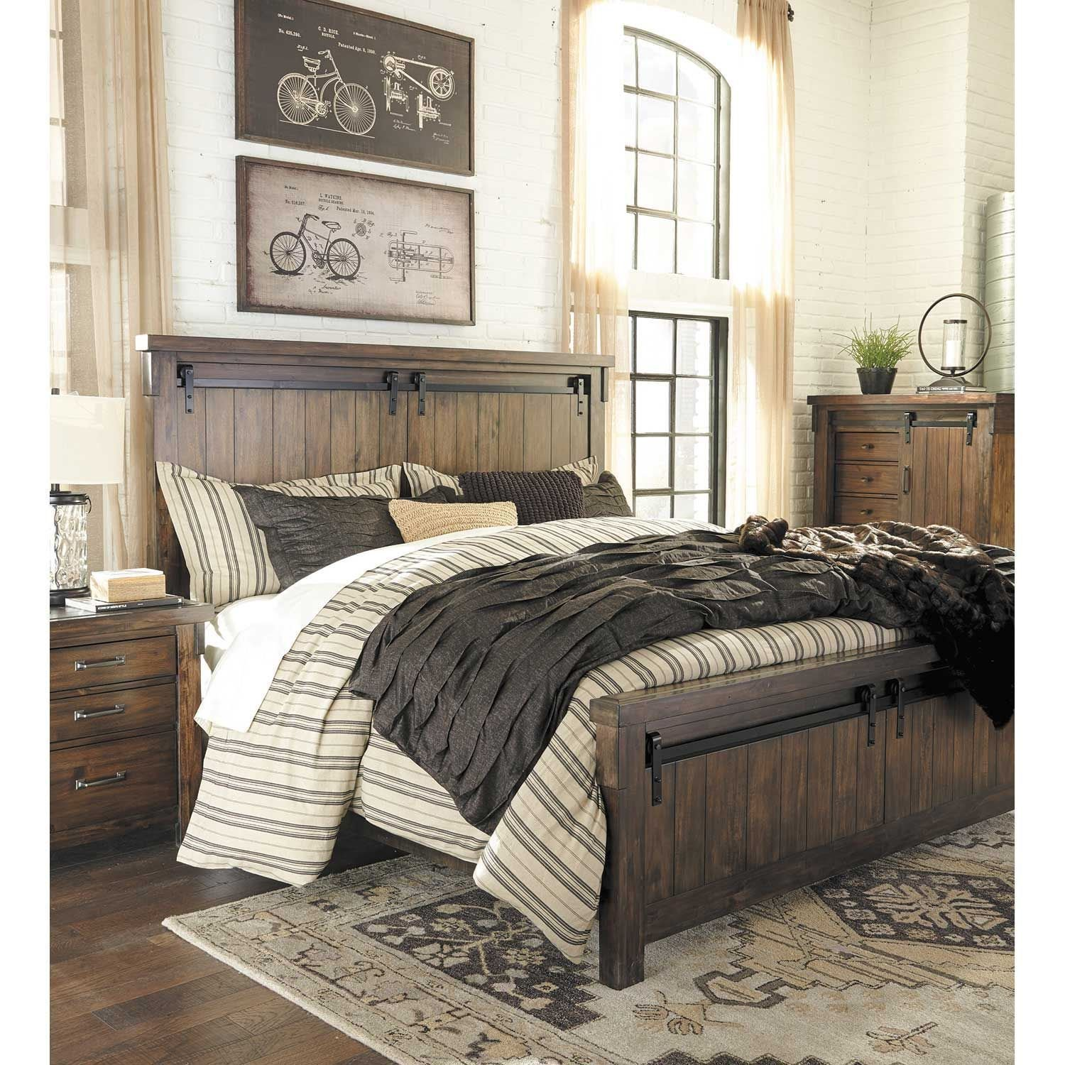 Best Lakeleigh 5 Piece Bedroom Set B718 Qbed 31 36 46 93 With Pictures