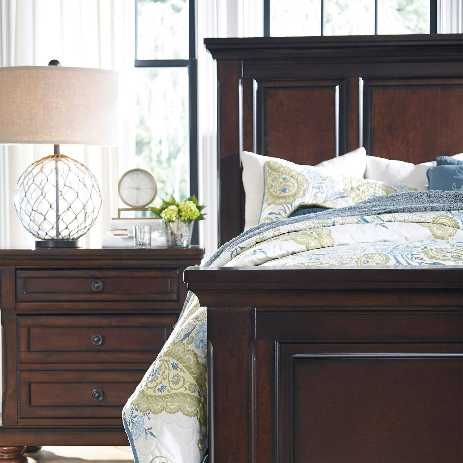 Best Porter Queen Panel Bed B697 Qpnlbed Ashley Furniture With Pictures
