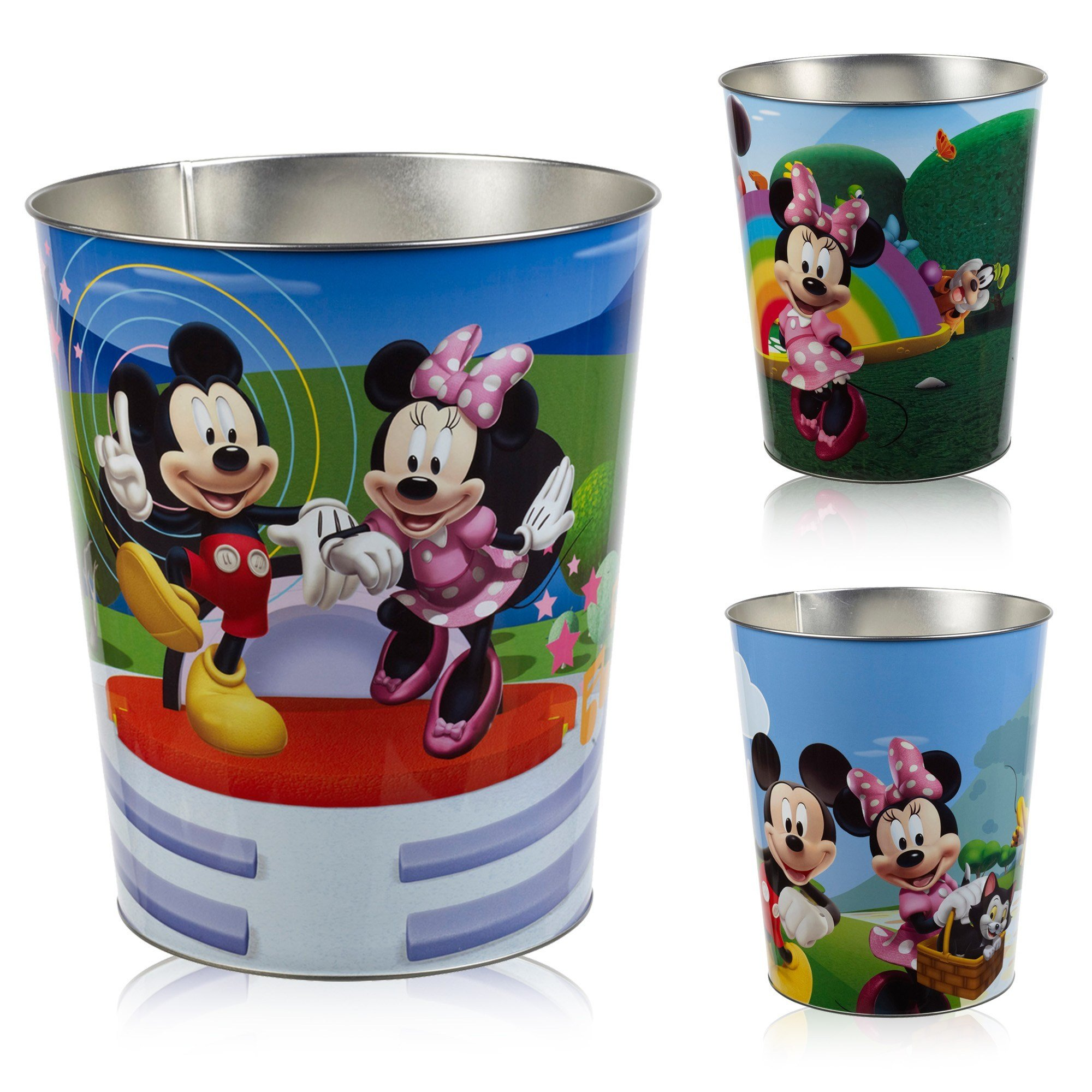 Best Disney Kids Stainless Steel Metal R*Bb*Sh Bin Children With Pictures