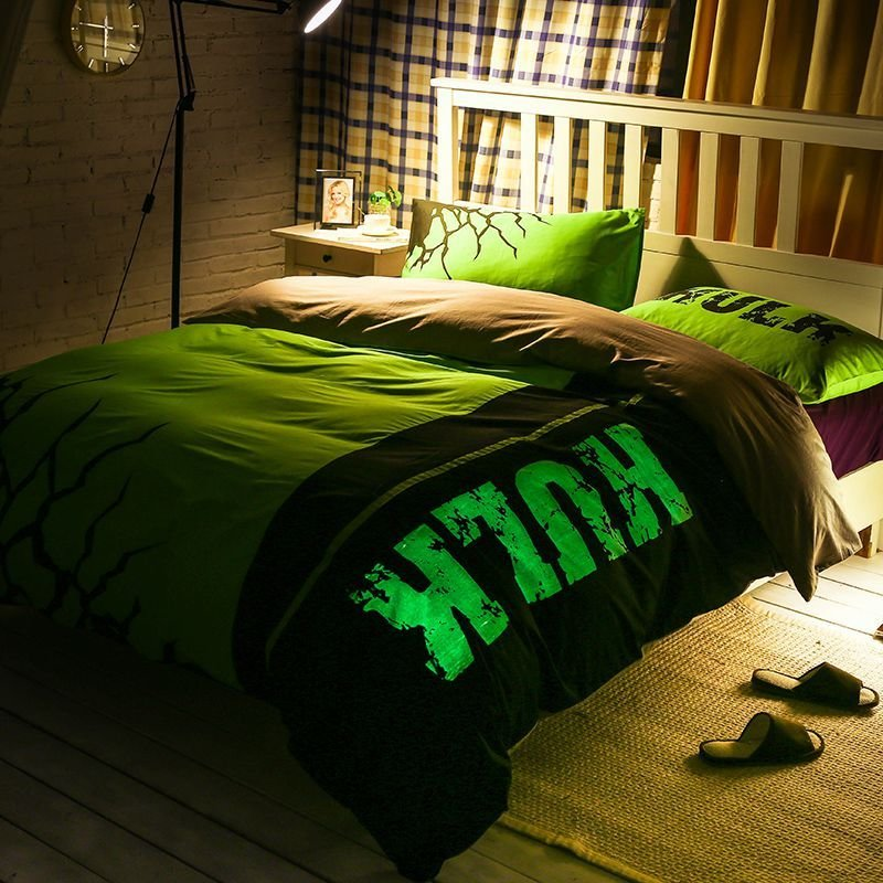 Best Incredible Hulk Bedding Set Queen Size For T**N Ebeddingsets With Pictures