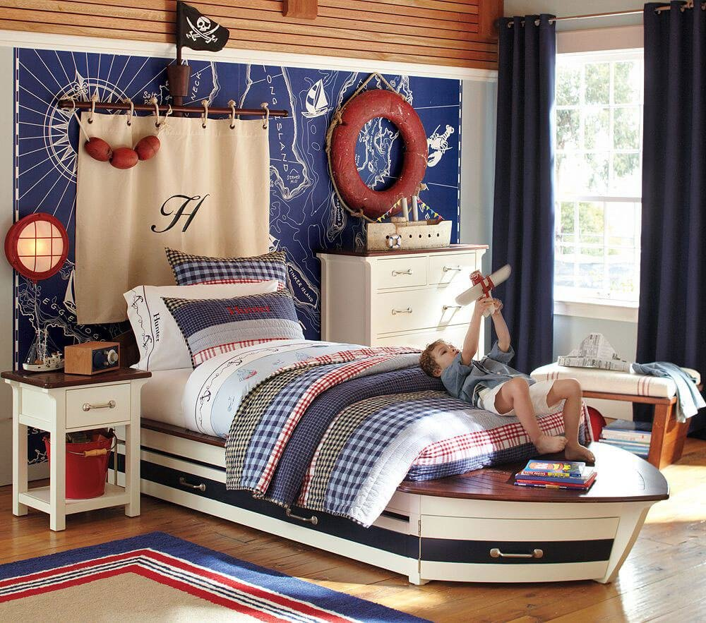 Best 8 Fun Pirate Themed Bedroom Designs For Kids Https With Pictures