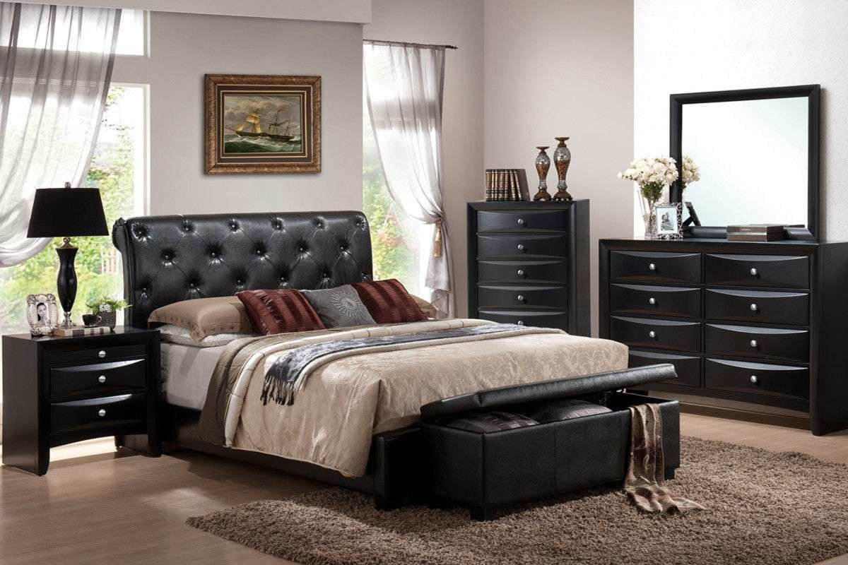 Best King Bedroom Set 7 Pc Memory Foam Mattress Include Cal King Bedroom Furniture For Sale Item With Pictures