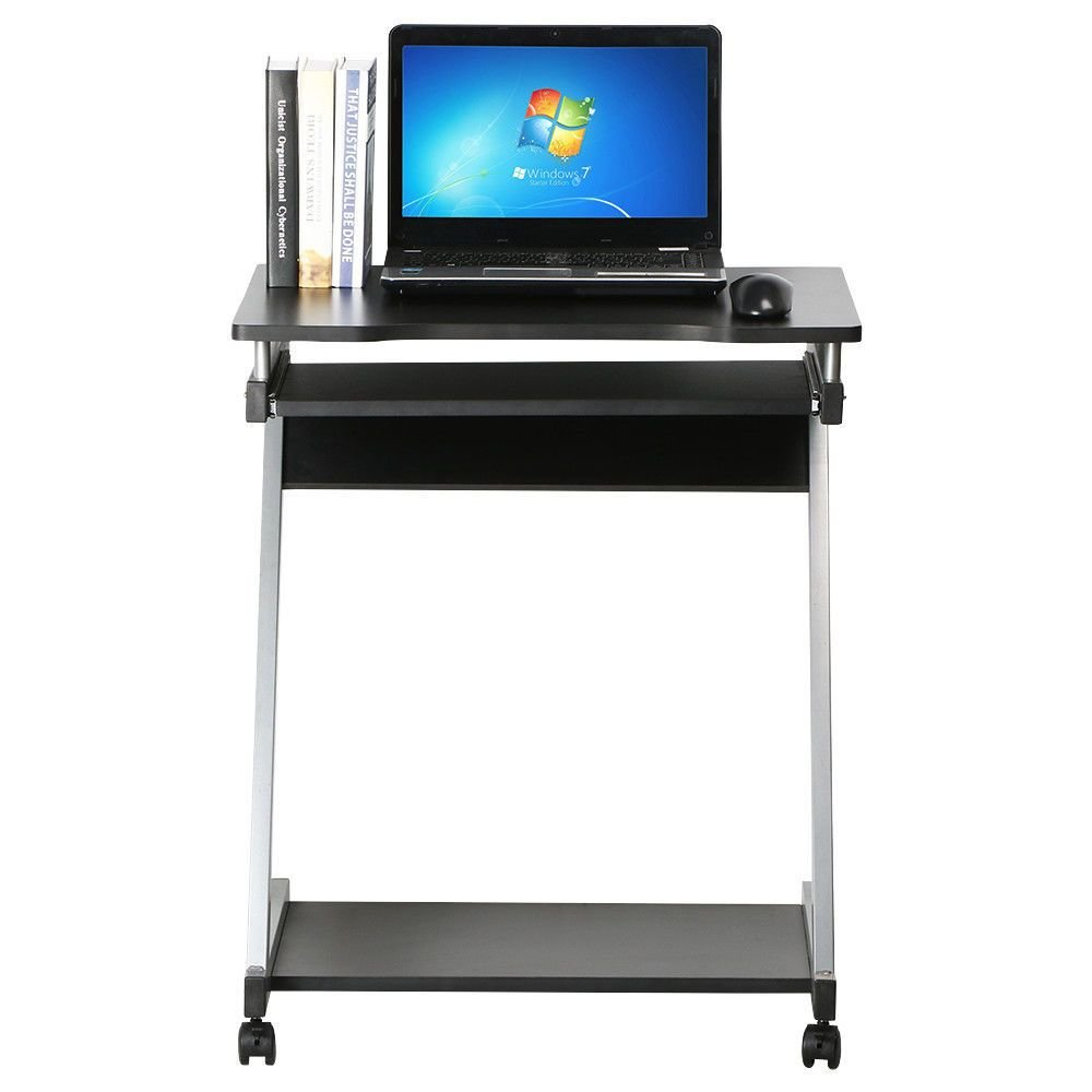 Best Corner Computer Desk Small Spaces On Castors Pc Table With Pictures