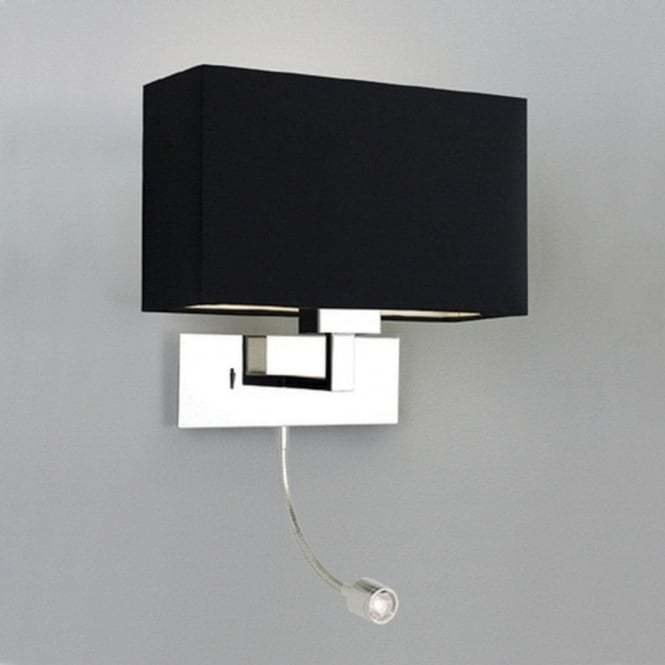 Best Modern Hotel Style Bedside Wall Light With Integral Led With Pictures