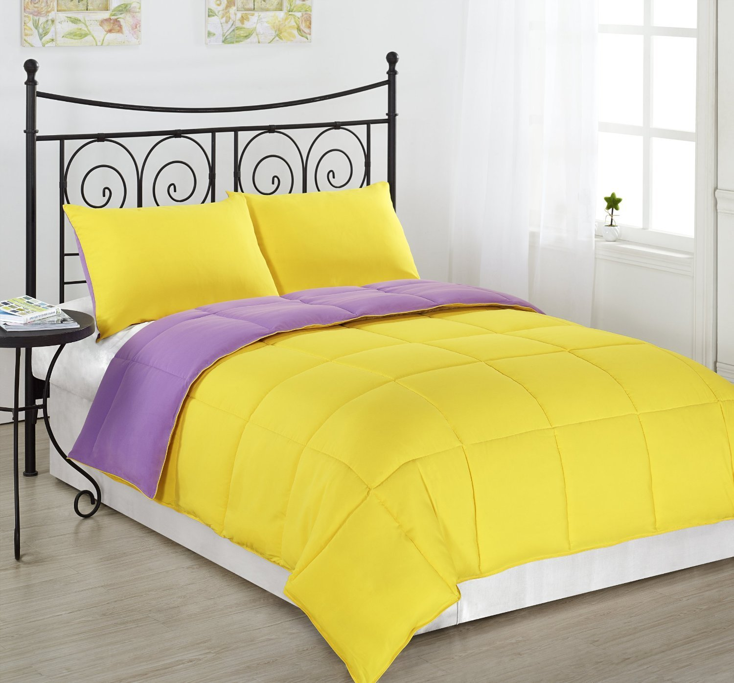 Best Purple Yellow Bedding With Pictures