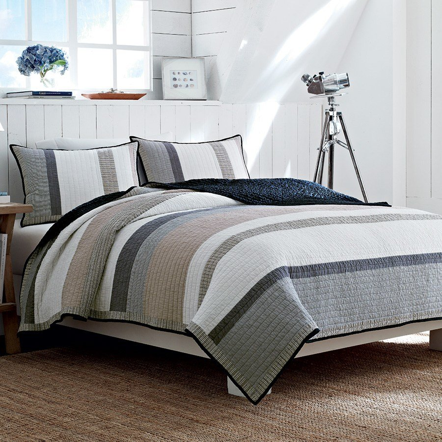 Best Nautica Tideway Quilt From Beddingstyle Com With Pictures