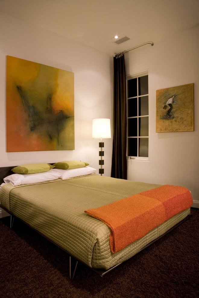 Best Beds Without Headboards Bedroom Contemporary With Brown With Pictures