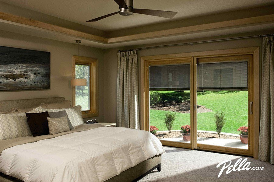 Best Pella Sliding Doors Family Room Contemporary With Dual With Pictures