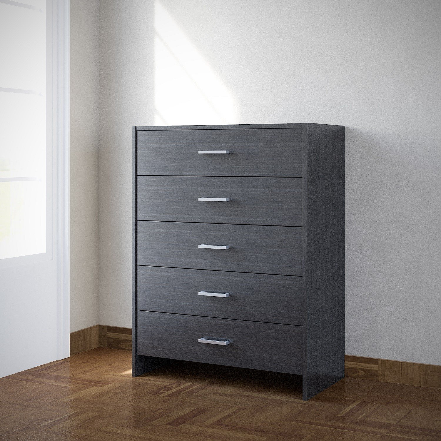 Best Chest Of Drawers Black Bedroom Furniture 5 Drawer Metal With Pictures