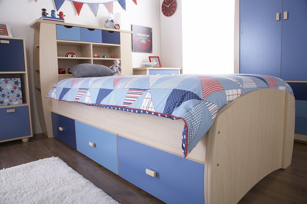 Best Kids Blue Oak Bedroom Furniture Sets Two Tone Boys Chest With Pictures