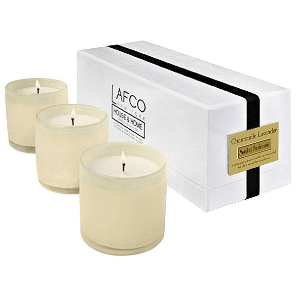 Best Lafco Master Bedroom Chamomile Lavender 3 Mini Candle Set With Pictures