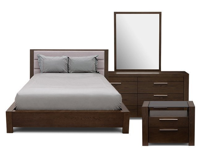 Best Ontario 3 Pc Wall Bedroom Set Furniture Row With Pictures