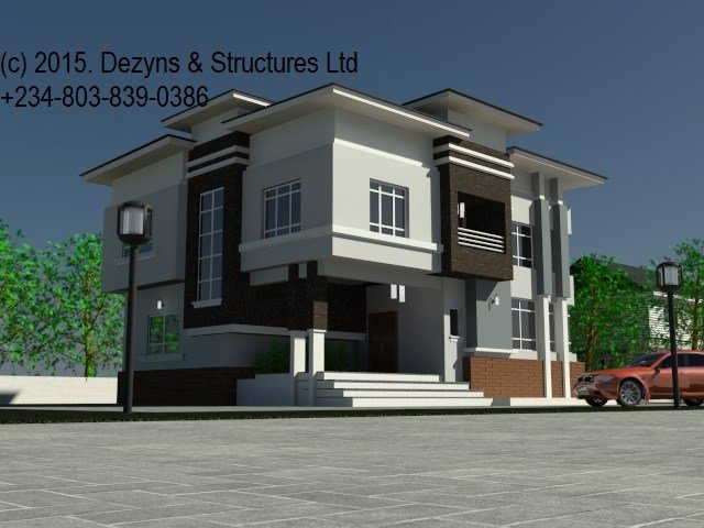 Best 4 Bedroom Duplex A New Dimension To Nigerian Architecture Properties Nigeria With Pictures