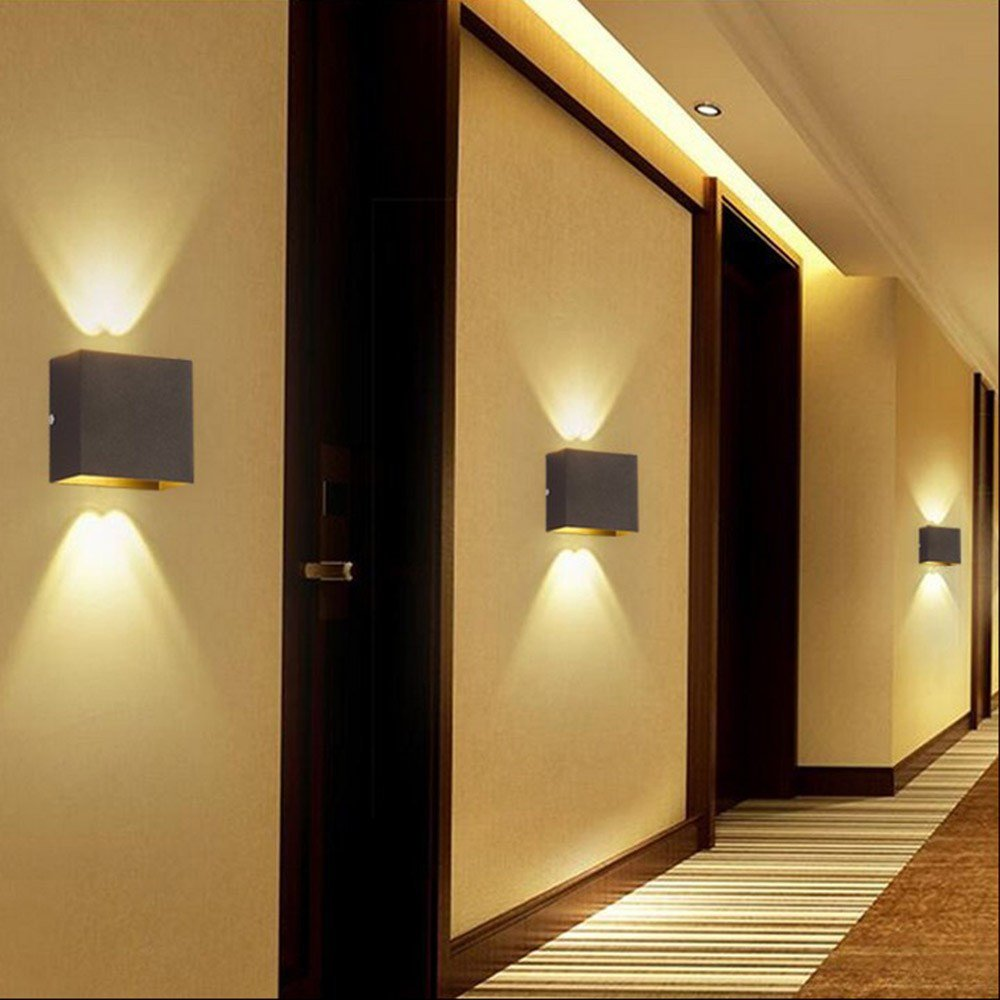 Best Modern 6W Led Wall Light Up Down Lamp Sconce Spot Lighting With Pictures