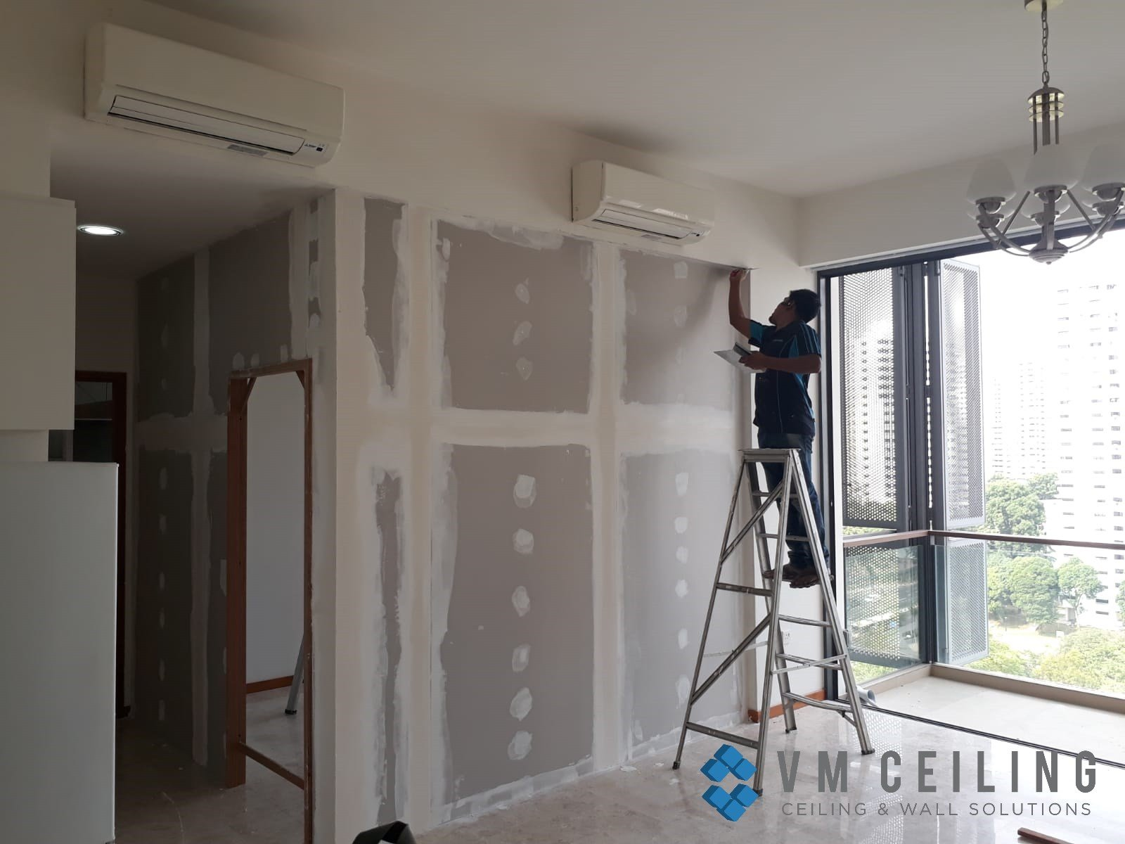 Best Bedroom Partition Wall Singapore Hdb Macpherson Vm With Pictures