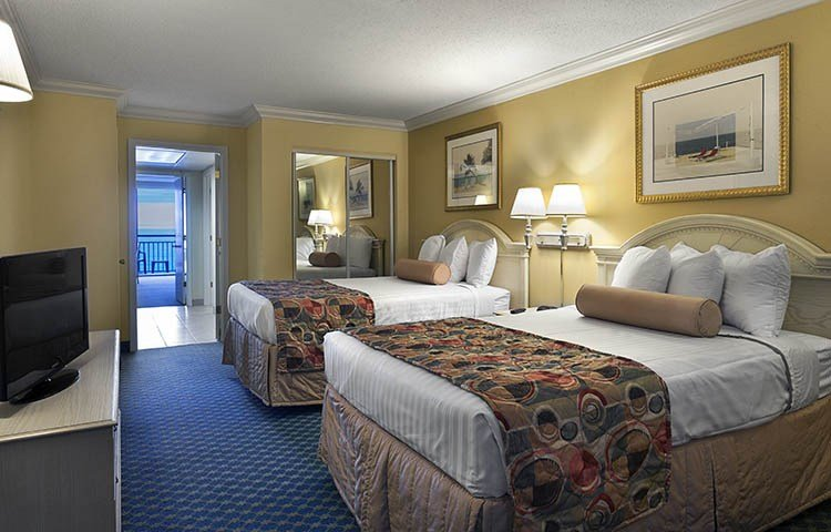 Best Oceanfront Family Suite Coral Beach Resort Myrtle Beach With Pictures