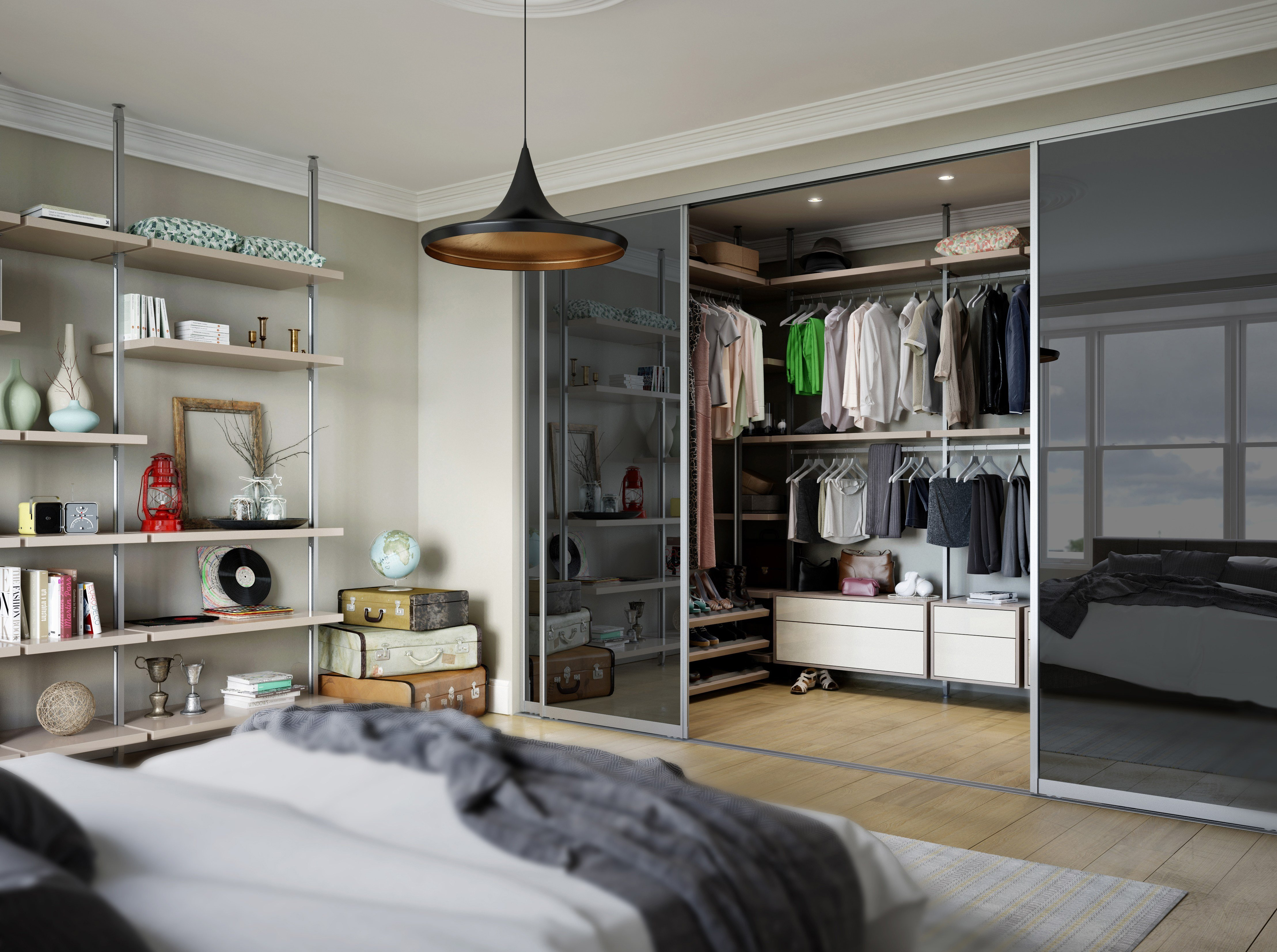 Best Walk In Wardrobe Designs How To Design Your Own Spaceslide With Pictures