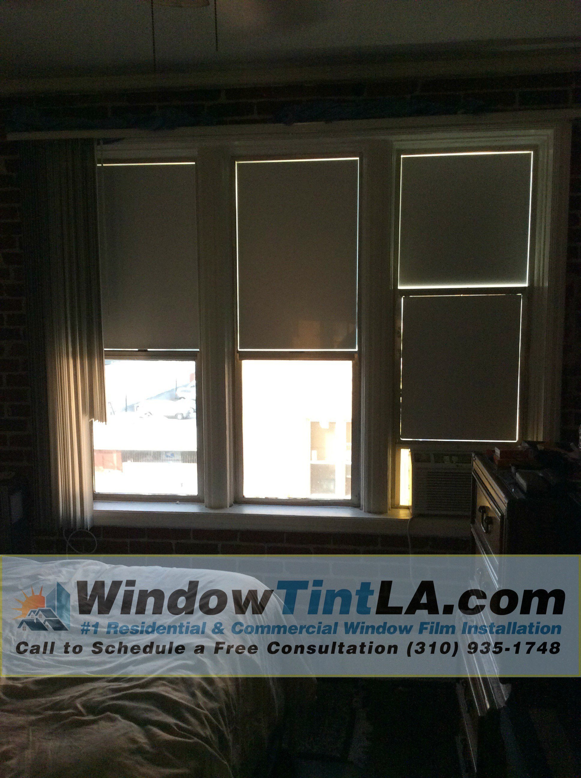 Best Total Light Blocking Window Film Window Tint Los Angeles With Pictures
