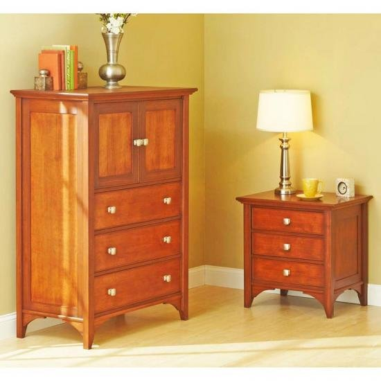 Best Traditional Dresser Nightstand Wood Magazine With Pictures
