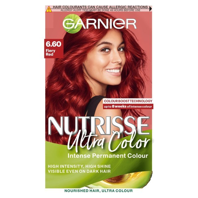 Free Morrisons Garnier Nutrisse Ultra Colour Fiery Red 6 60 Product Information Wallpaper