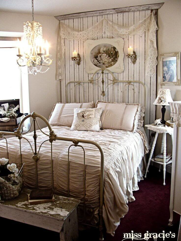Best 35 Best Shabby Chic Bedroom Design And Decor Ideas For 2019 With Pictures