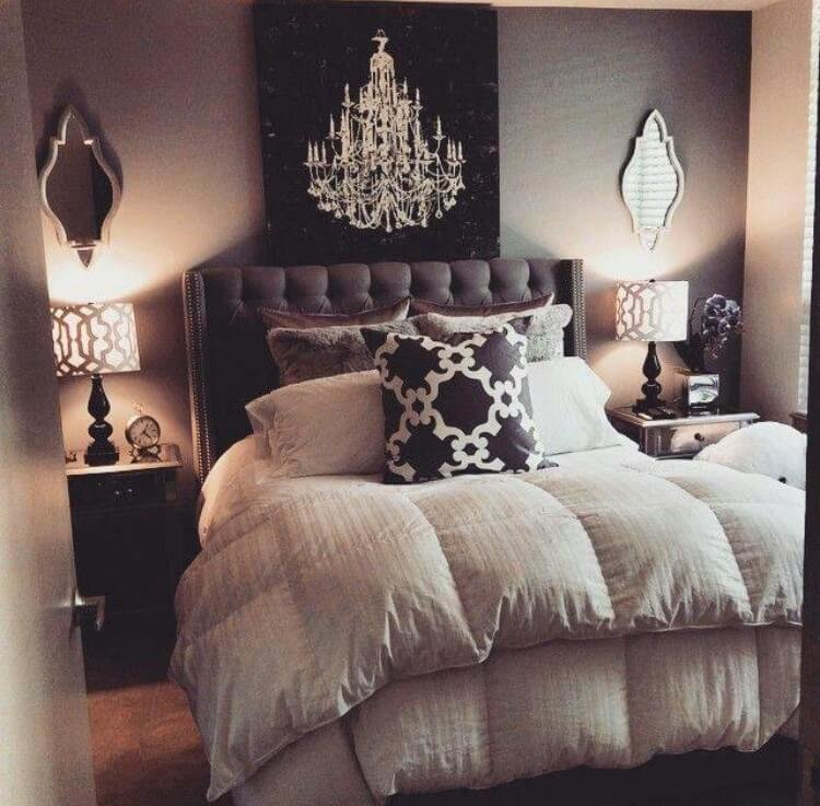 Best 23 Best Grey Bedroom Ideas And Designs For 2019 With Pictures