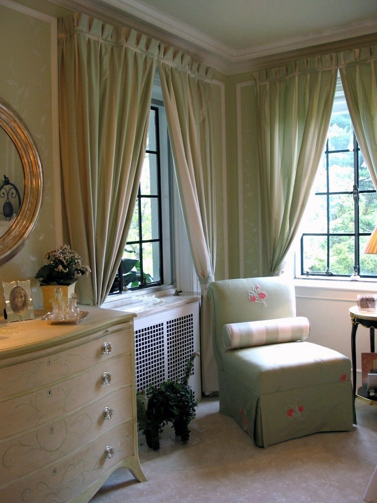 Best Bedroom Curtains Smart Bright Green Window Curtain Design With Pictures
