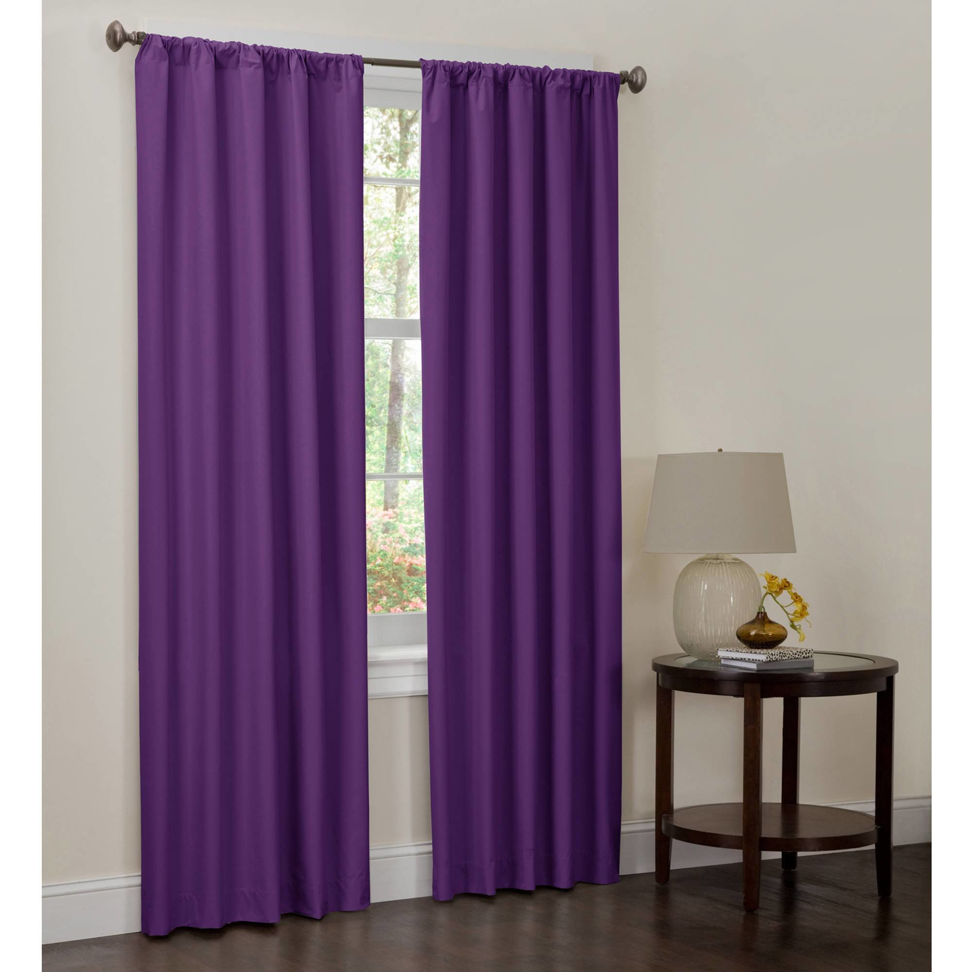 Best Maytex Bedroom Curtain Panel Set Of 2 40X84 Walmart Com With Pictures