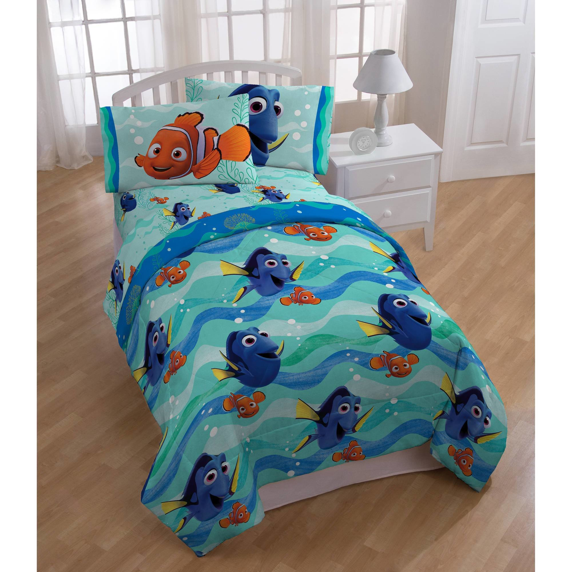 Best Disney Finding Dory Nemo Pin Baby Bed In A Bag 5 Piece With Pictures