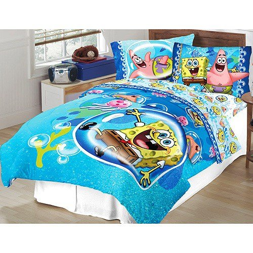 Best Spongebob Comforter Set With Bonus Walmart Com With Pictures