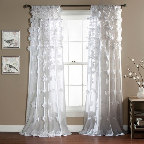 Best Riley Girls Bedroom Curtain Panel Walmart Com With Pictures