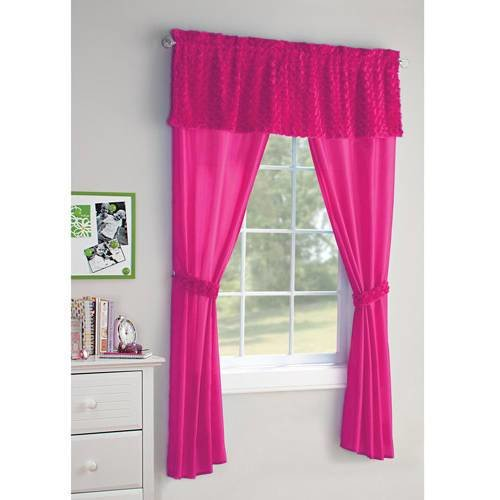 Best Your Zone 5 Piece Poodle Girls Bedroom Curtain Set Walmart Com With Pictures