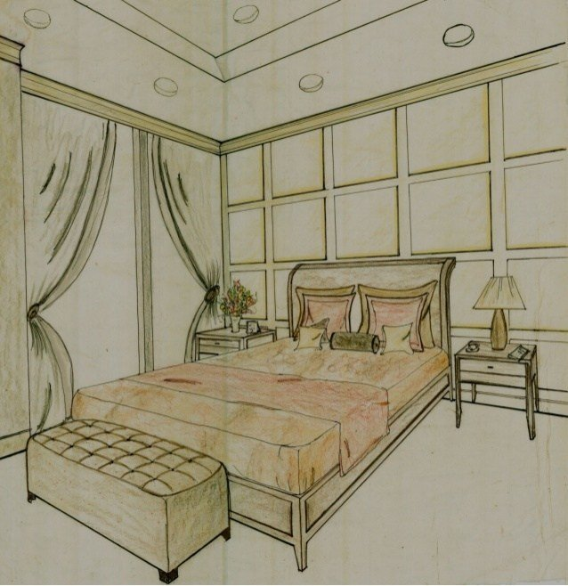 Best Conceptual Loft Design Boards Bedroom 3D Perspective With Pictures