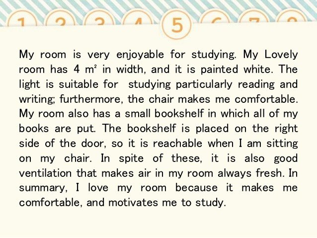 Best Essay Describing My Bedroom With Pictures