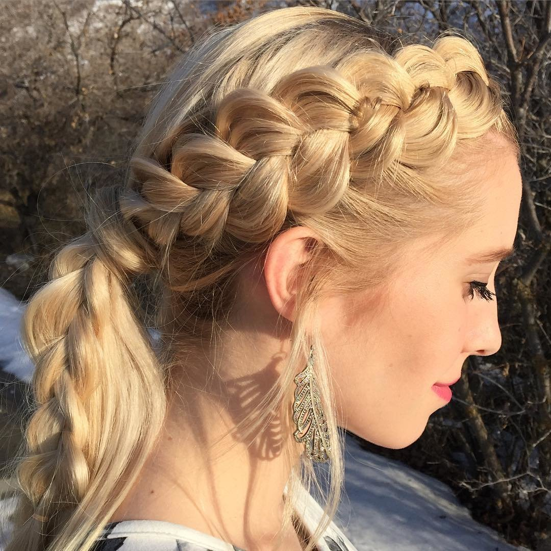 Free 25 Side Braid Hairstyle Designs Ideas Design Trends Wallpaper