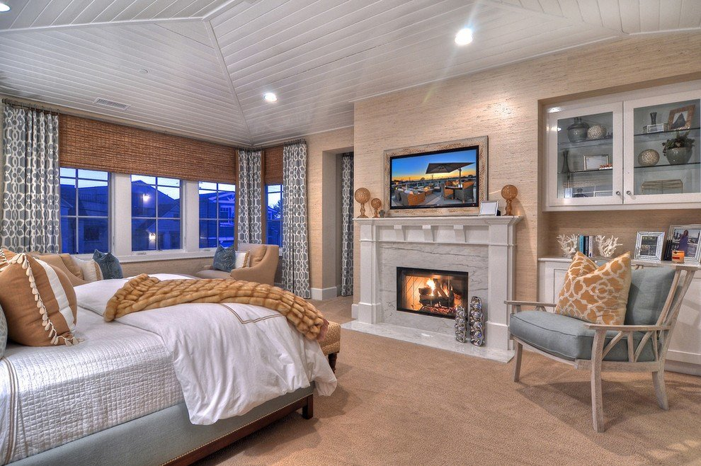 Best 21 Bedroom Fireplace Designs Decorating Ideas Design With Pictures