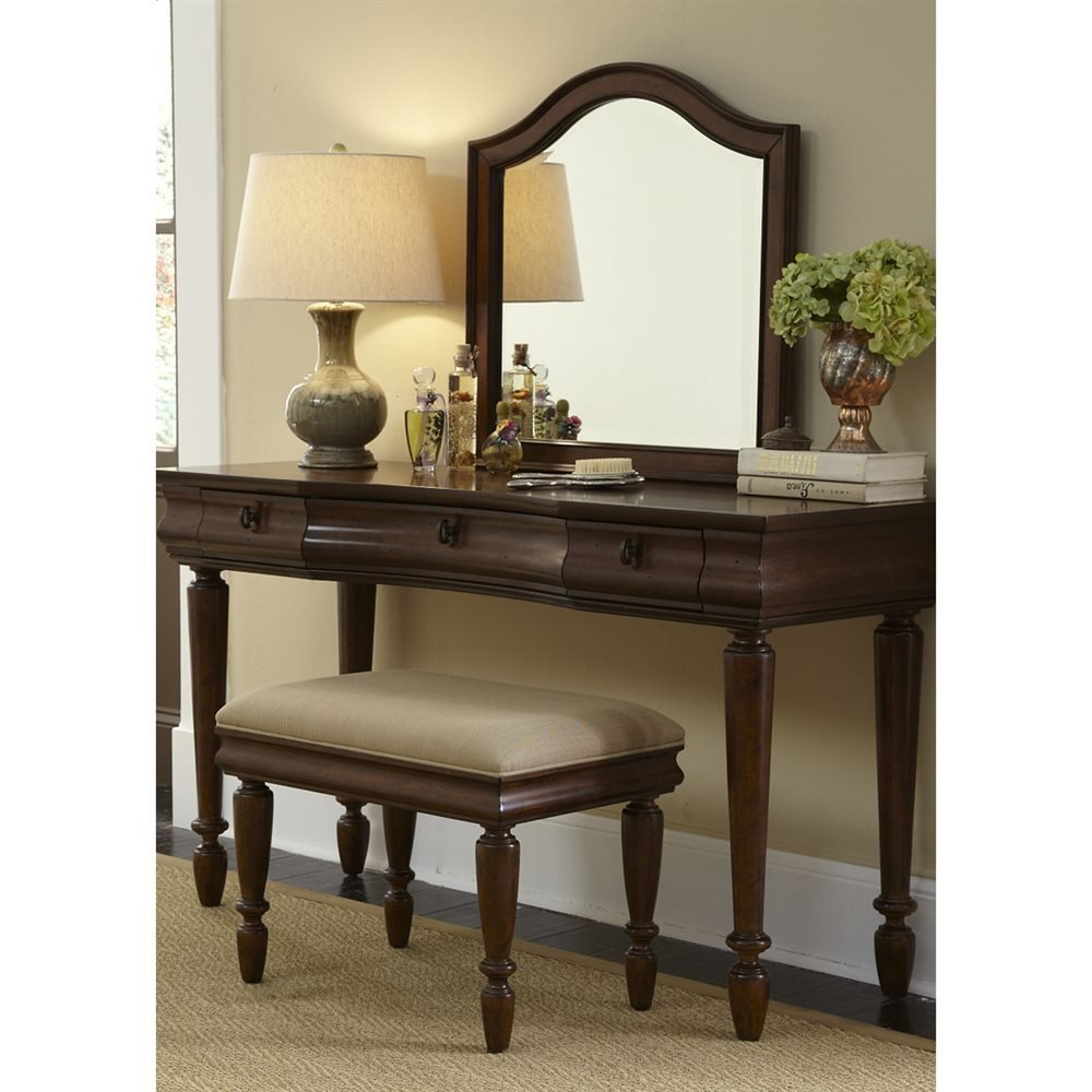 Best Liberty Furniture Rustic Traditions Vanity Atg Stores With Pictures