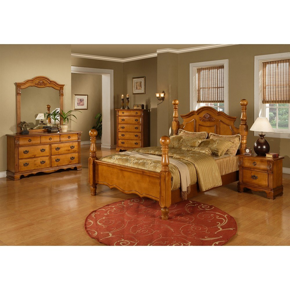 Best Sunset Trading Brighton 5 Piece Poster Bedroom Set Atg With Pictures